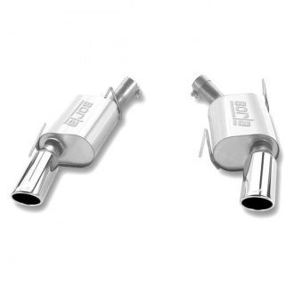 BORLA� - Touring� Stainless Steel Rear Section Exhaust System - Split Rear Exit