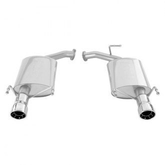 Borla® - Touring™ Stainless Steel Single Rear Section Exhaust System