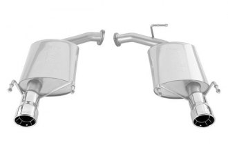 Borla® 11758 - Stainless Steel Rear Section Exhaust System (Split Rear Exit)
