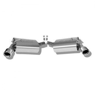 Borla® - S-Type™ Stainless Steel Rear Section Exhaust System (Split Rear Exit)