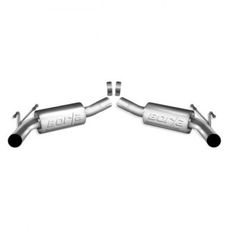 Borla® - ATAK™ Stainless Steel Rear Section Exhaust System (Split Rear Exit)