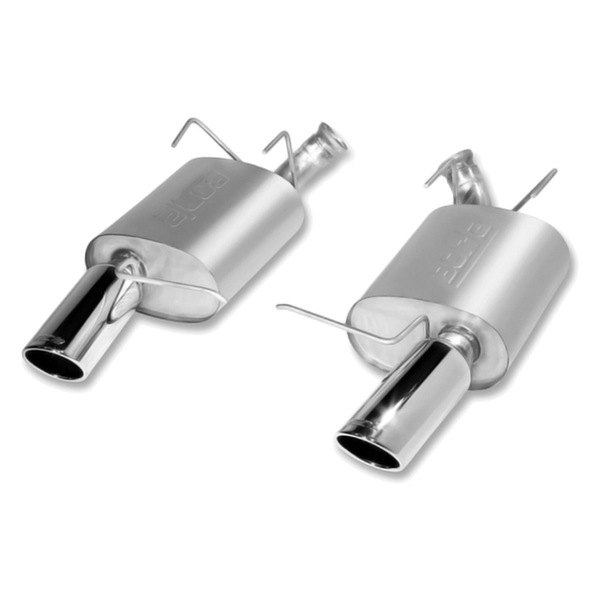 Borla® - Touring™ Stainless Steel Rear Section Exhaust System (Split Rear Exit)