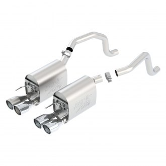 Borla® - ATAK™ Stainless Steel Dual Exhaust System with Dual Split Rear Exit