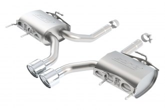 Borla® - S-Type™ Stainless Steel Rear Section Exhaust System
