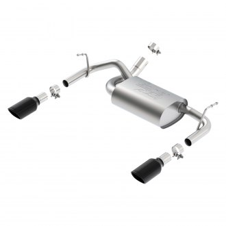 Borla® - ATAK™ Stainless Steel Dual Rear Section Exhaust System