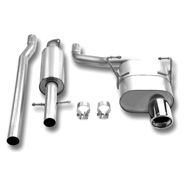 Borla® - Touring™ Stainless Steel Cat-Back Exhaust System (Single Right Rear Exit)