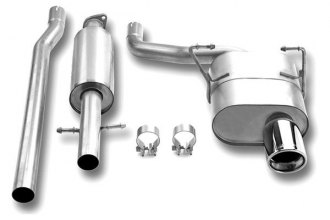 Borla® 140030 - Touring™ Stainless Steel Cat-Back Exhaust System (Single Right Rear Exit)