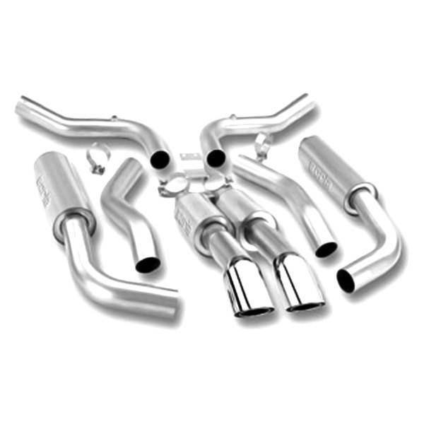 Borla® - Touring™ Stainless Steel Cat-Back Exhaust System (Dual Center Rear Exit)