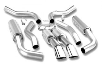 Borla® 140049 - Touring™ Stainless Steel Cat-Back Exhaust System (Dual Center Rear Exit)