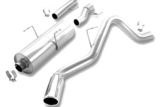 Borla® 140060 - Touring™ Stainless Steel Cat-Back Exhaust System (Single Side Exit)