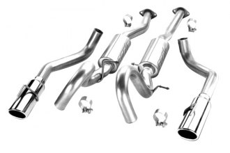 Borla® - S-Type™ Stainless Steel Cat-Back Exhaust System - Split Rear Exit
