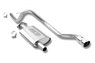 Borla® 140071 - Touring™ Stainless Steel Cat-Back Exhaust System (Single Rear Exit)