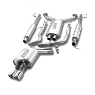 Borla® - Stainless Steel Cat-Back Exhaust System (Dual Left Rear Exit)