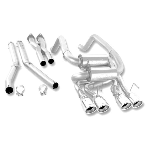 Borla® - S-Type™ Stainless Steel Cat-Back Exhaust System (Split Rear Exit)