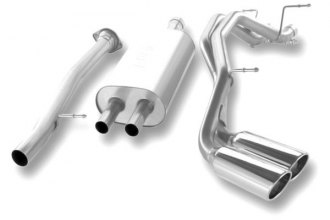 Borla® 140205 - Stainless Steel Cat-Back Exhaust System (Dual Side Exit)