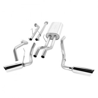 Borla® - S-Type™ Stainless Steel Dual Cat-Back Exhaust System