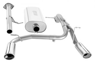 Borla® - Touring™ Stainless Steel Single Cat-Back Exhaust System