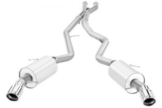 Borla® 140276 - S-Type™ Stainless Steel Cat-Back Exhaust System (Split Rear Exit)