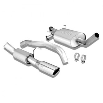 Borla® - Touring™ Stainless Steel Single Cat-Back Exhaust System with Single Right Rear Exit