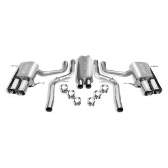 Borla® - S-Type™ Stainless Steel Single Cat-Back Exhaust System with Single Split Rear Exit