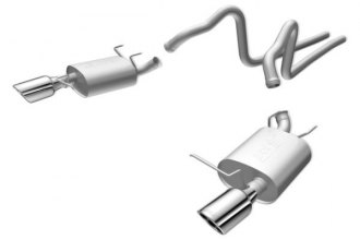 Borla® 140375 - S-Type™ Stainless Steel Cat-Back Exhaust System (Split Rear Exit)