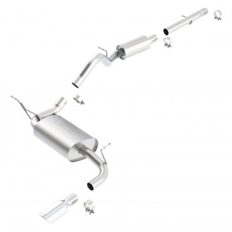 Borla® - Stainless Steel Cat-Back Exhaust System (Truck Single Right Rear Exit)