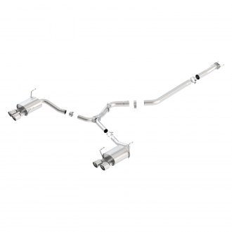 Borla® - S-Type™ Single Cat-Back Exhaust System
