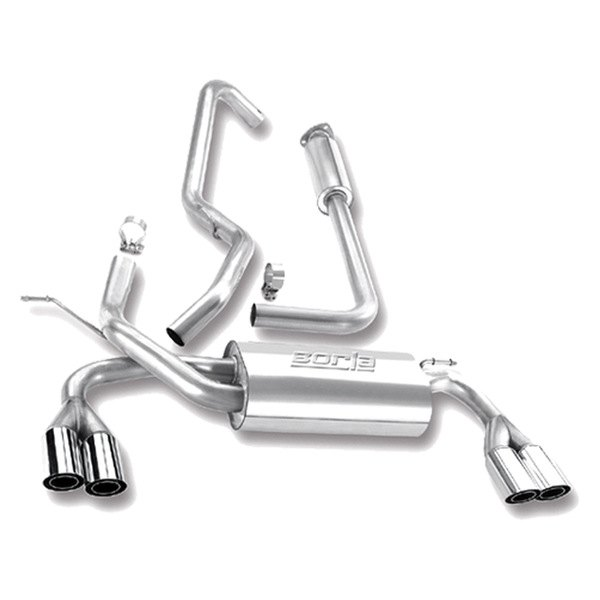 Borla® - Stainless Steel Cat-Back Exhaust System (Split Rear Exit)