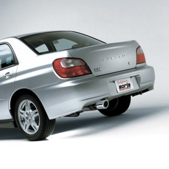 BORLA� - Stainless Steel Cat-Back Exhaust System - Rear Exit, Installed