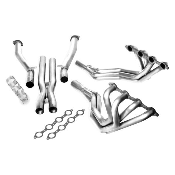 Borla® - XR-1™ Stainless Steel Long Tube Header with X-Pipe