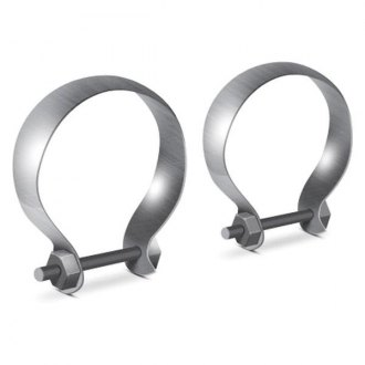 Borla® - Stainless Steel Half Moon Clamps