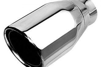 Borla® - Stainless Steel Polished Round Single Tip