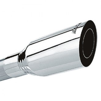 Borla® - Phantom Series 304 SS Round Angle Cut Exhaust Tip
