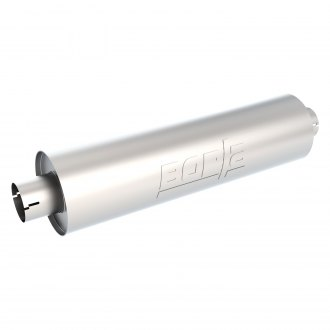 Borla® - Heavy Duty Stainless Steel Round Muffler