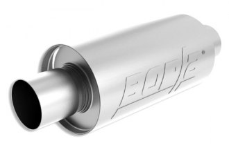 "Borla® 40842S - S-Type™ Stainless Steel Round Muffler (2.5"" Inlet / 2.5"" Outlet)"
