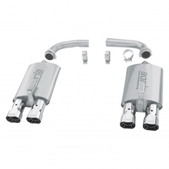Borla® - S-Type™ Stainless Steel Axle-Back Exhaust System with Quad Rear Exit