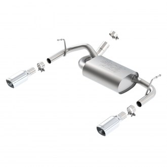 Borla® - ATAK™ Stainless Steel Axle-Back Exhaust System with Split Rear Exit