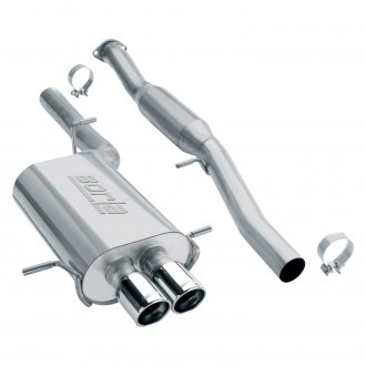Borla® - Touring™ Stainless Steel Cat-Back Exhaust System with Dual Rear Exit