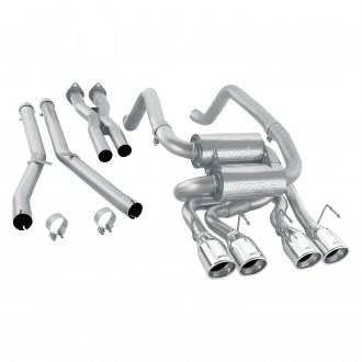 Borla® - S-Type™ Stainless Steel Exhaust System with Quad Rear Exit
