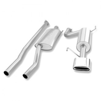 Borla® - Touring™ Stainless Steel Cat-Back Exhaust System with Single Rear Exit