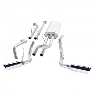 Borla® - S-Type™ Stainless Steel Cat-Back Exhaust System with Split Side Exit