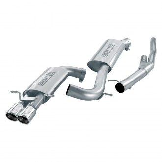 Borla® - S-Type™ Stainless Steel Cat-Back Exhaust System with Dual Rear Exit
