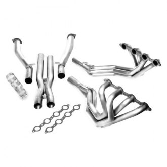 Borla® - XR-1™ Stainless Steel Long Tube Exhaust Headers with X-Pipe