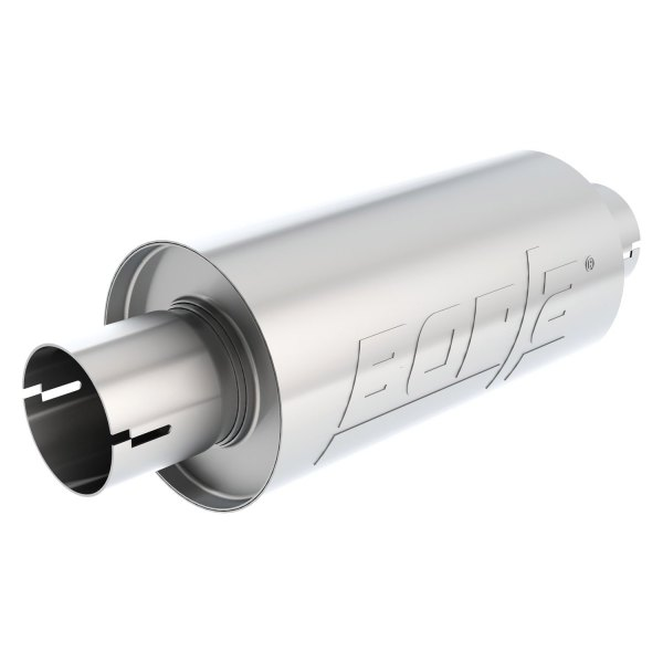 Borla® - S-Type™ Stainless Steel Round Notched Exhaust Muffler