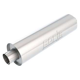 Borla® - Heavy Duty Stainless Steel Round Exhaust Muffler