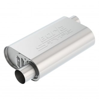 Borla® - Stainless Steel Oval Crate Exhaust Muffler