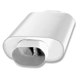 Borla® - XR-1™ Stainless Steel Oval Slim Line Exhaust Muffler