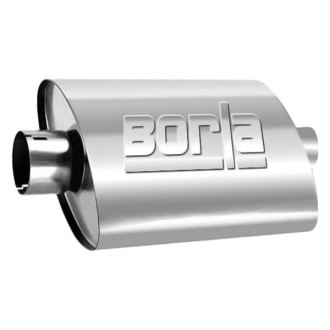 Borla® - Turbo XL™ 304 SS Oval Exhaust Muffler