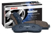 Image may not reflect your exact vehicle! Bosch® - QuietCast™ Premium Organic Front Brake Pads