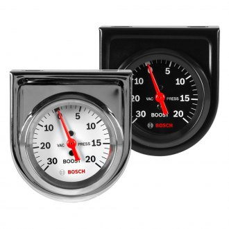 Bosch® - Style Line™ Mechanical Vacuum/Boost Gauge